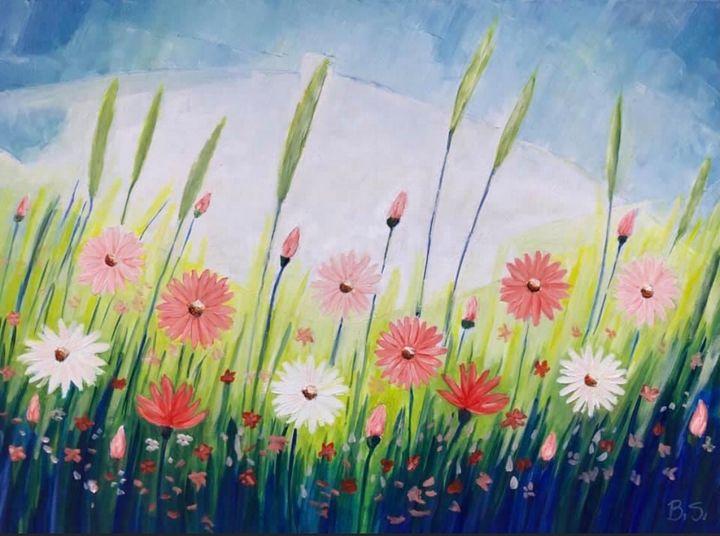 Flowers of the God of Light - Bogumil Staciwa