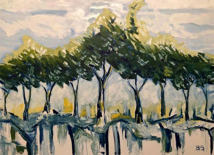Spring Trees - Bogumil Staciwa