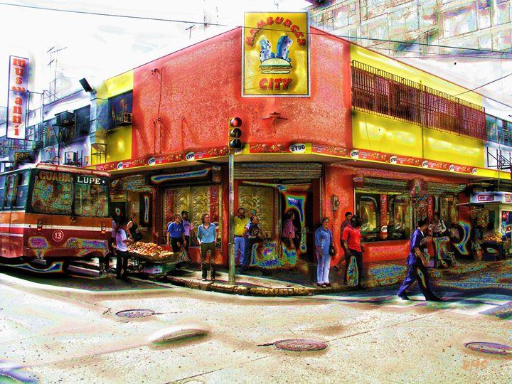 Hamburger Hangout - Timeless Artography