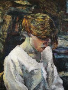 After Toulouse Lautrec La Rousse