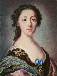 After F. Cotes Portrait of a Lady