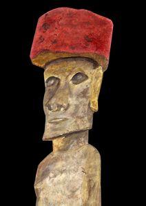 Stone idol from Easter Island
