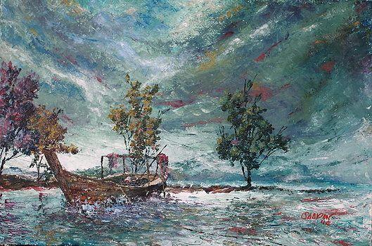 Perahu Kuah (Kuah's Boat) - Saadon Arts