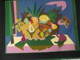 """28x36"""" Vintage Tapestry David Poliat"""