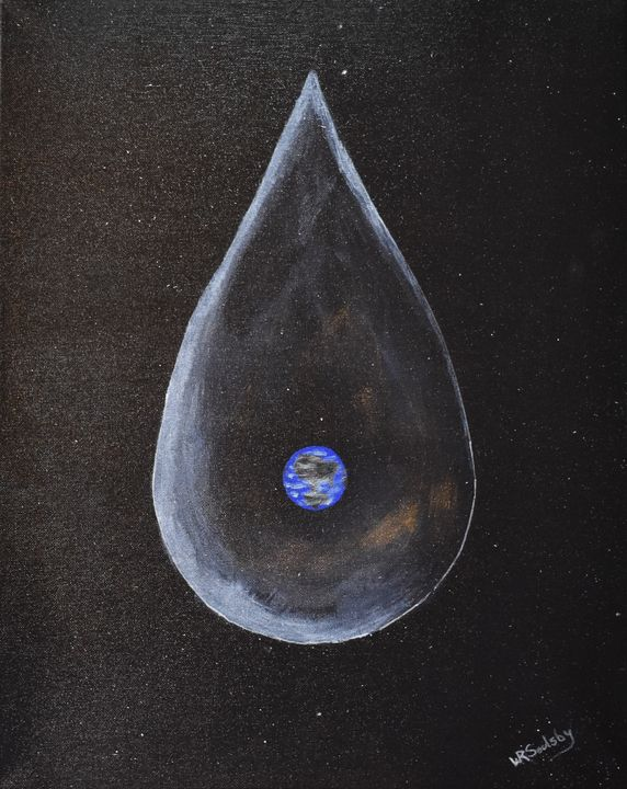 Tears of God - Paintings By William R Soulsby