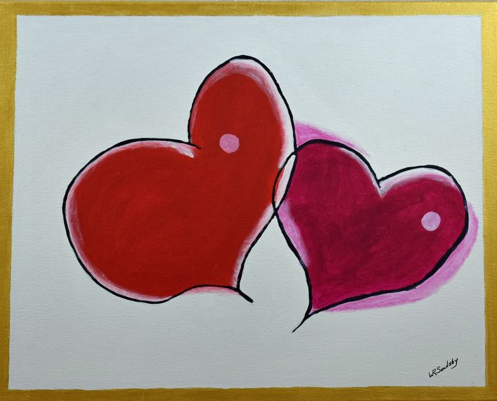 Love One Another - Paintings By William R Soulsby