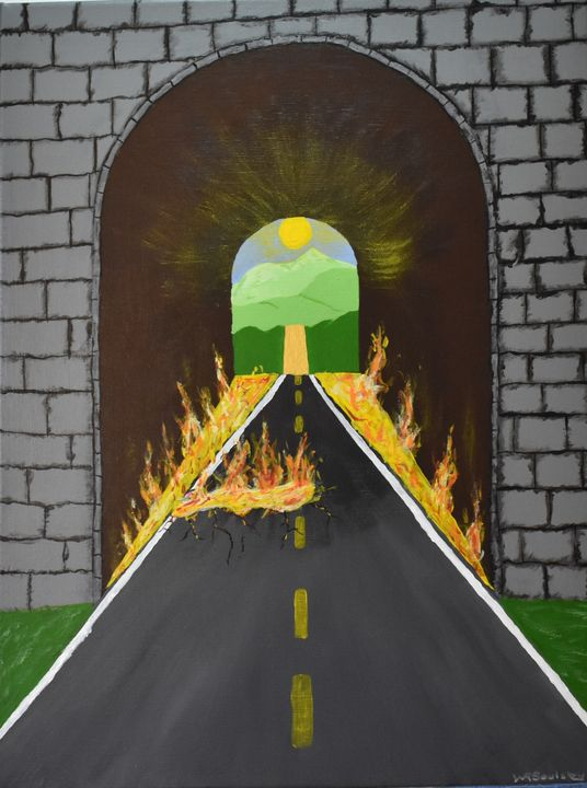 Road of Life - Paintings By William R Soulsby
