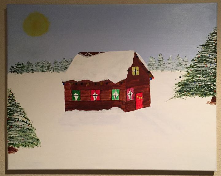 Snow Day - Paintings By William R Soulsby