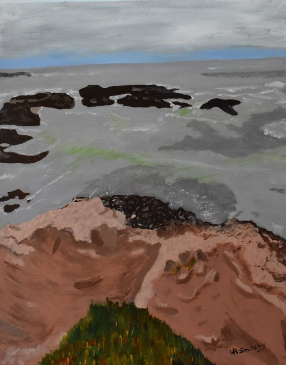 Pacific View - Paintings By William R Soulsby