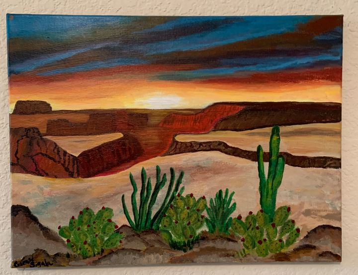 Canyon sunset - Celeste Sigala