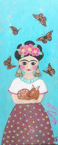 Frida con Granizo