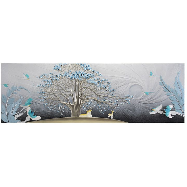 3D Relief Embossed Mural - COCO Decorative Paintings