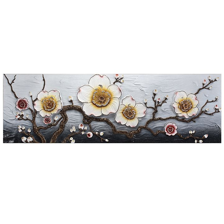 3D embossed flower painting - COCO Decorative Paintings