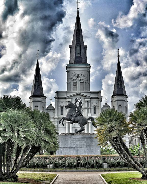 French Quater New Orleans - Through the lens