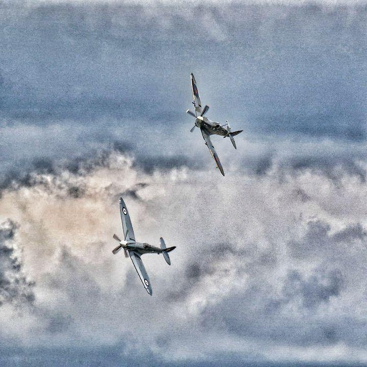 Grainy Spitfires - Through the lens
