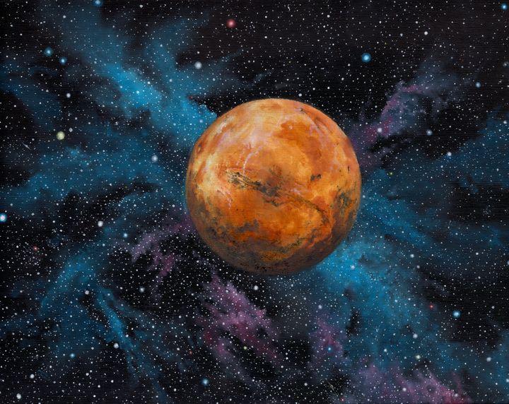 Mars and Stars - zawackiart