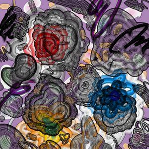 sentimographie : flowers world