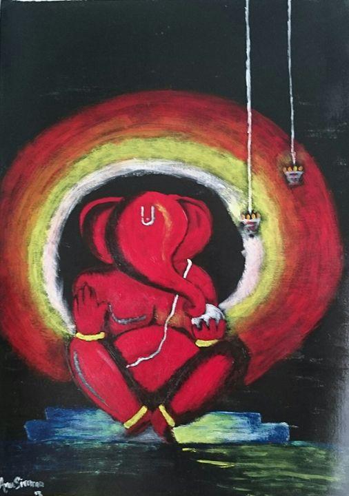 Lord ganesh - AnuSivarao