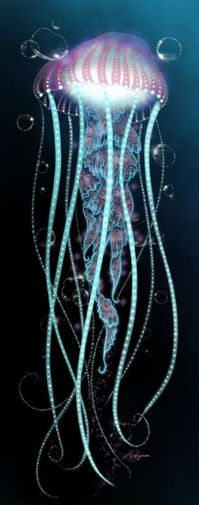 Light in the Dark - Gradient - M. Sarginson Digital Arts