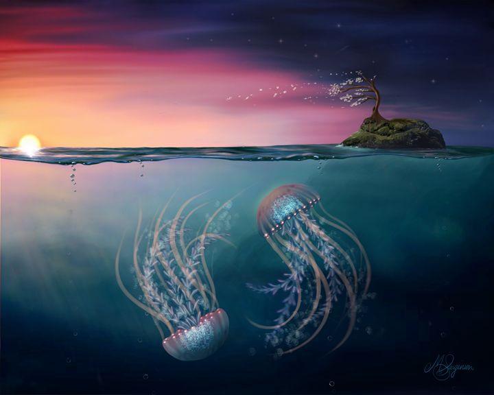 Dance of the Jelly Fish - M. Sarginson Digital Arts
