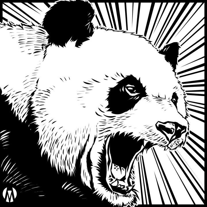 Beware ...The Mad Panda!! - MEMOART78