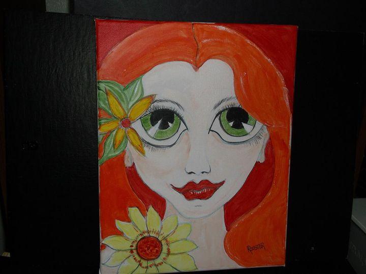 Flower Girl - Rodster Art
