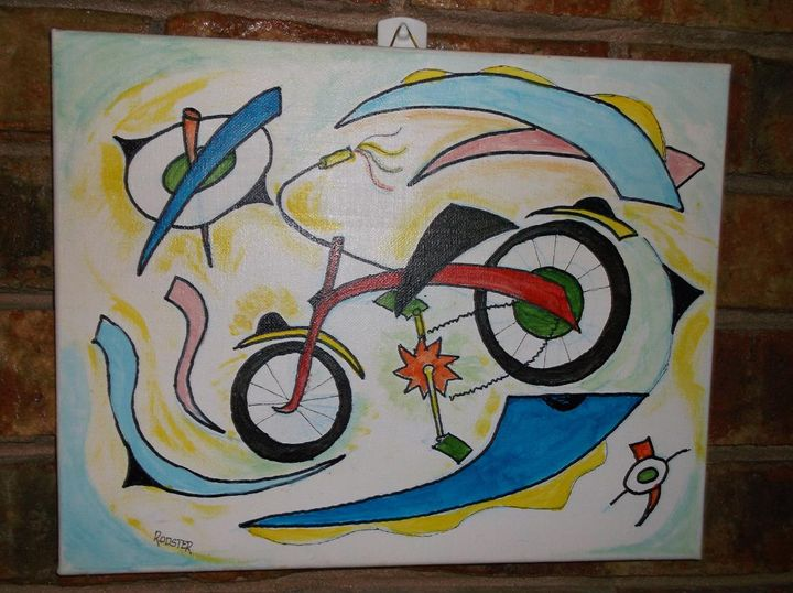 Bicycle - Rodster Art