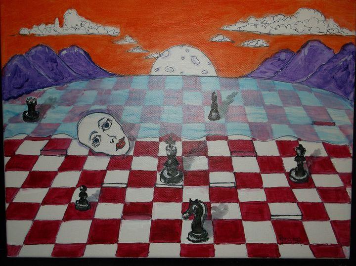 Chess Dreams - Rodster Art