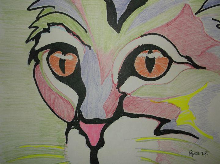 Fauve Cat - Rodster Art