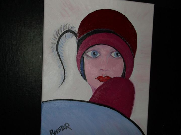 Feather Lady - Rodster Art