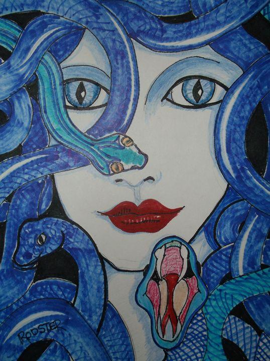 Medusa - Rodster Art