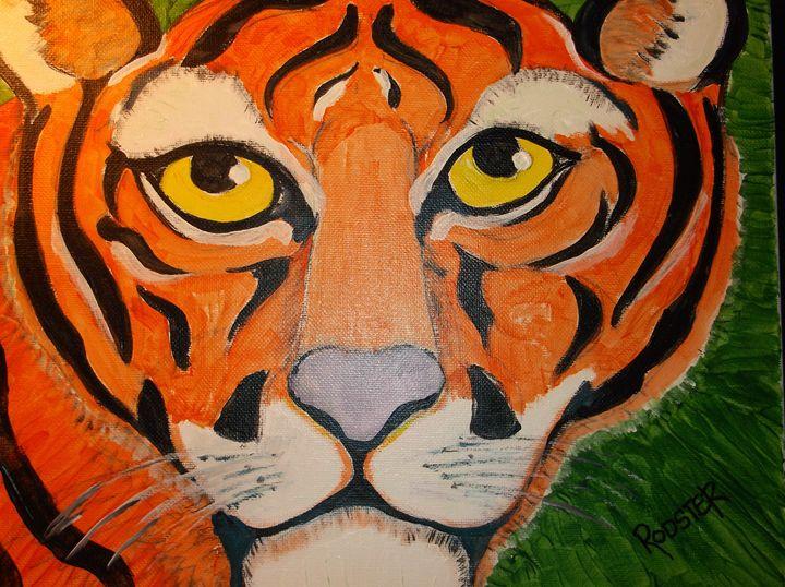 Fauve Tiger - Rodster Art