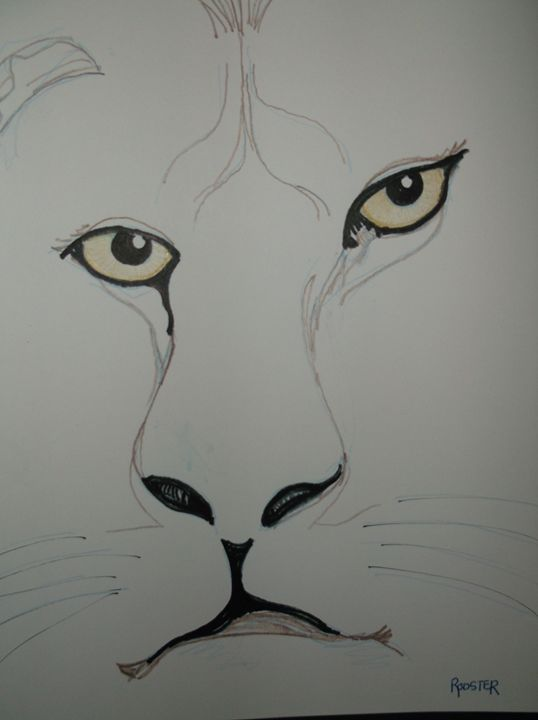 Lion - Rodster Art