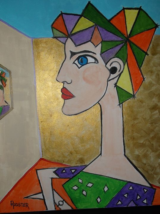 Picasso Lady No.4 - Rodster Art