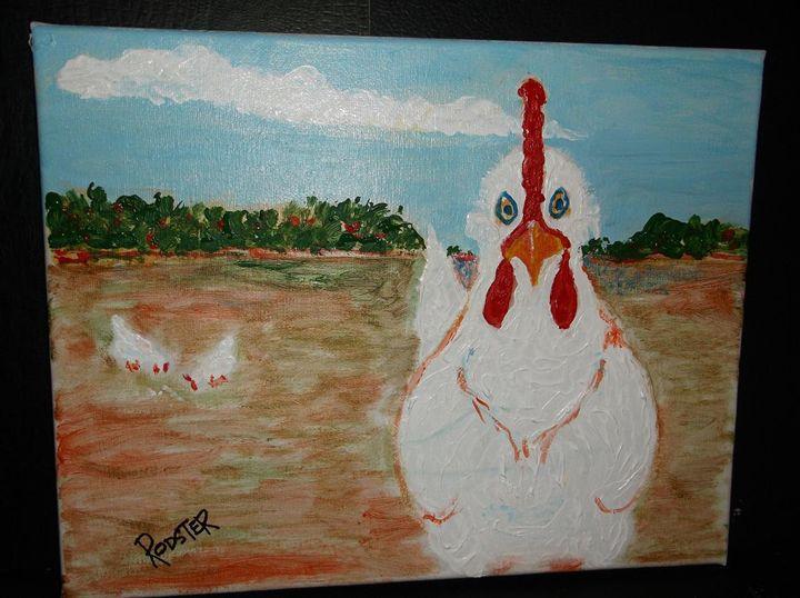 The Chicken - Rodster Art