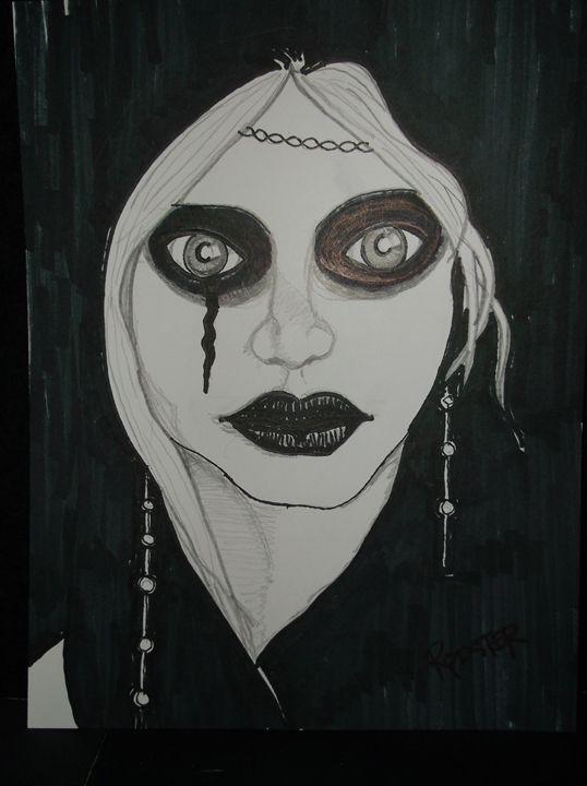 Goth Beauty - Rodster Art