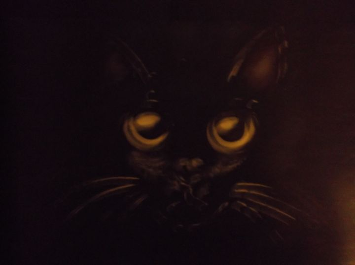 Black Cat - Rodster Art
