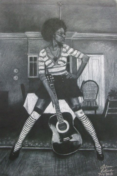 Jazmin - Blanca Estrada B.E. Art