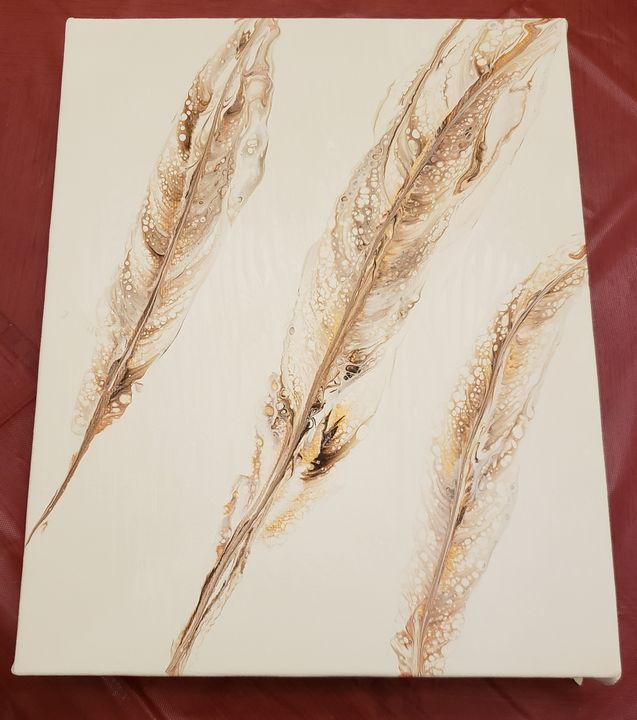Pale Feathers - Hurricane Designs