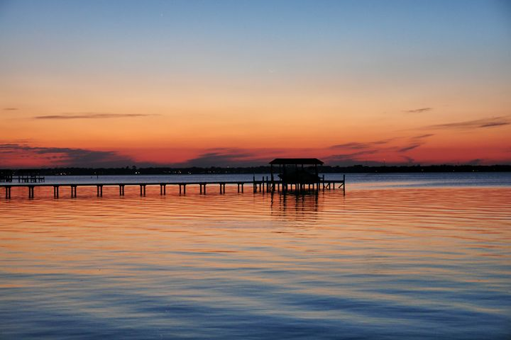 Sunset in the Blues - Barbee's Photography