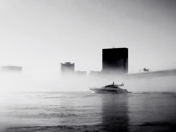 Early Morning Boat Ride - Barbee's Photography