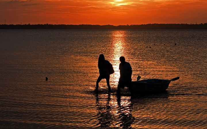 ~Silhouette Couple~ - Barbee's Photography