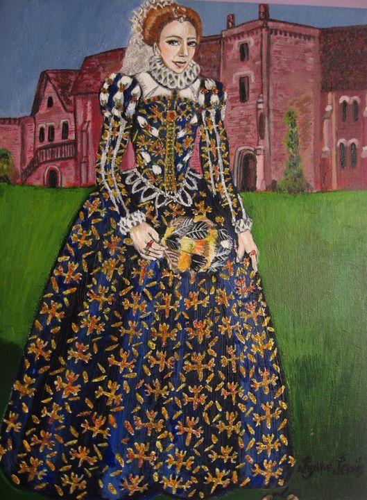 Young Queen Elizabeth Ist - Lynne Lewis Art