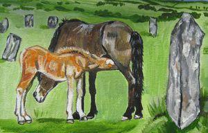 MOORLAND HORSES
