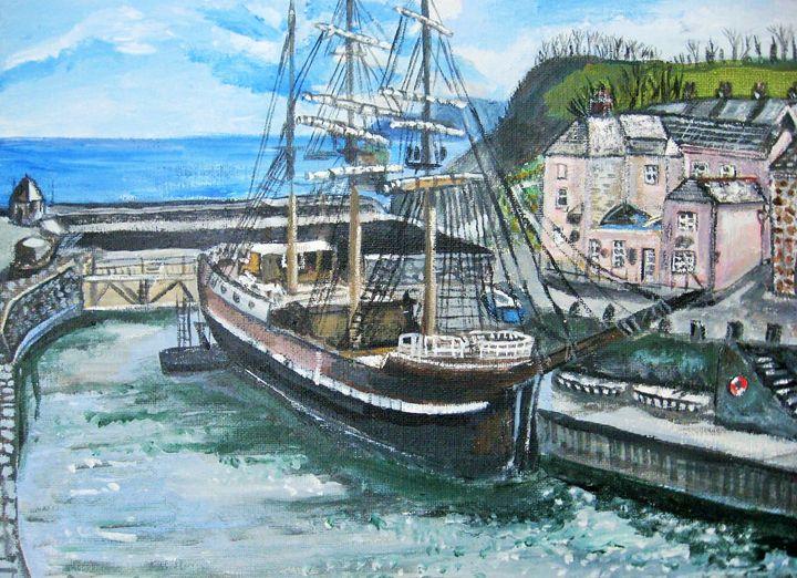 Tall Ship - Lynne Lewis Art