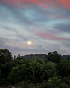 Full Moon Over Roanoke Star - Chris Skelton Photography