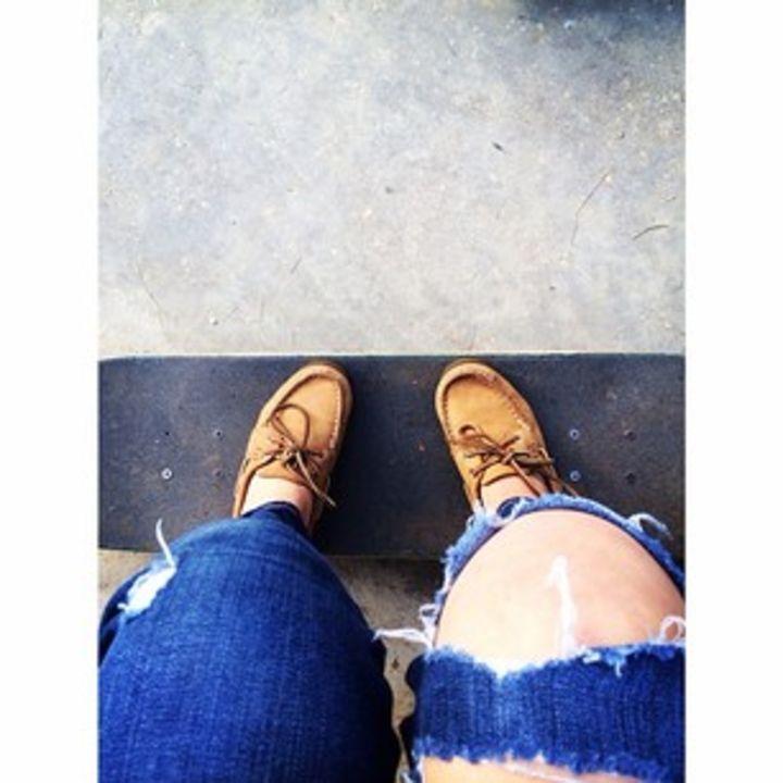 skate sperrys - maddie brunelle prints