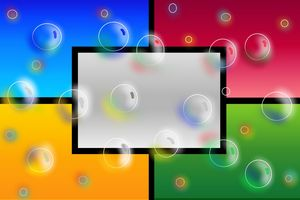 Bubbles in color