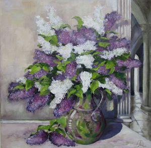 Lilacs Bouquet Lilas