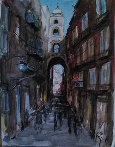 Via San Gregorio Armeno  Naples